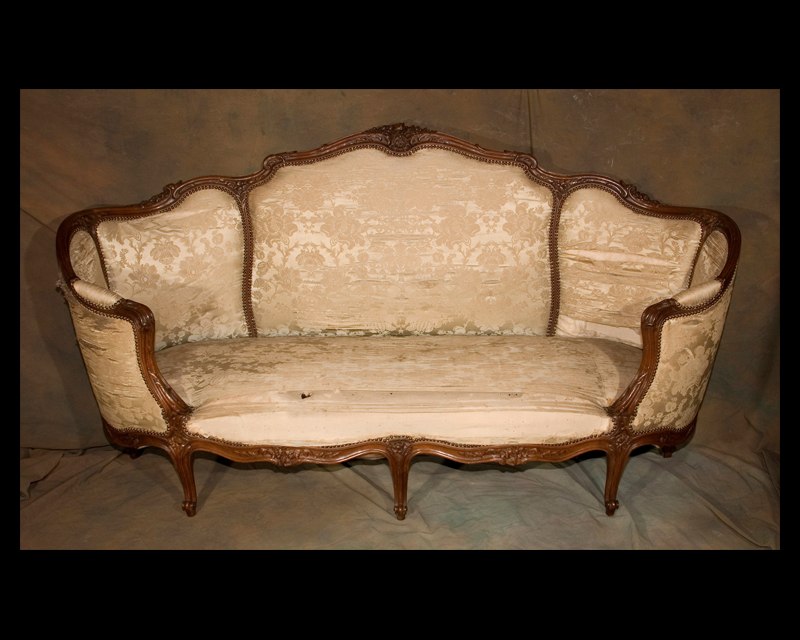 Louis xv canape french antique shop for Canape french